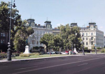 Budapest, Andrássy út 92-94, tetőtérbeépítés és teljes rekonstrukció