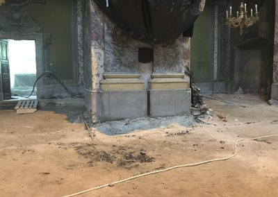 Budapest, Egyetem tér, Belvárosi templom faldiagnosztikai vizsgálat, állapotértékelő szakvélemény és felújítási javaslat